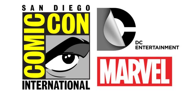 san-diego-comic-con-dc-entertainment-marvel-logos
